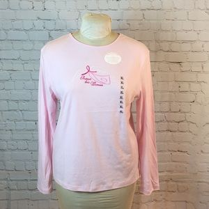New!  Callan&Co support the cause pink tee